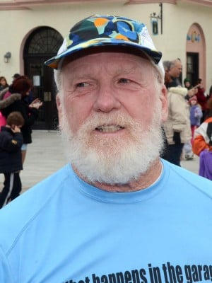 Resolutions: Gerry Arleth, 65, of Somers Point, has resolved to keep running.  - Photo by Danny Drake