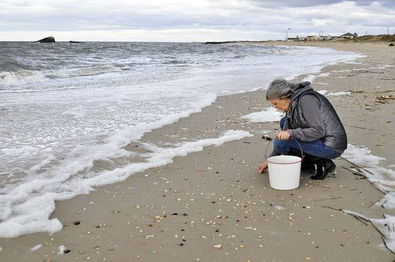 Storms such as Sandy churn up things for metal-detecting hobbyists, collectors