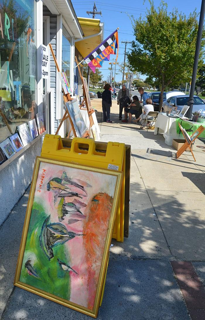 sidewalk art sale