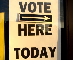 Ocean City voter sign