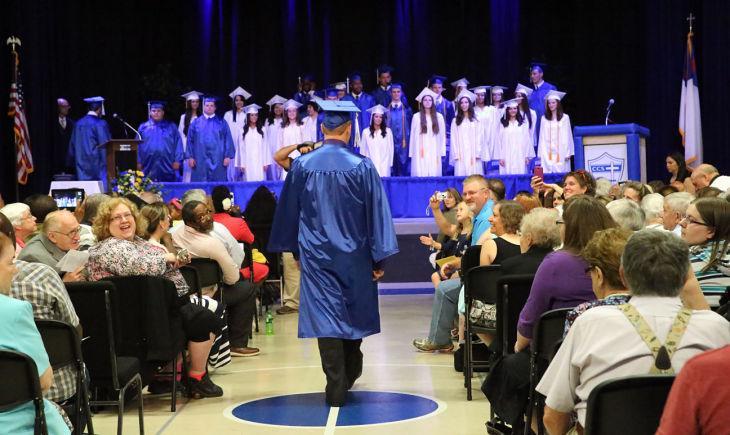 Cumberland Christian graduation