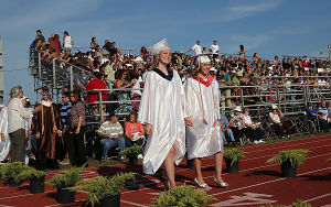 Cumberland Reg Graduation: Monday June 23 2014 Cumberland Regional High School Graduation. (The Press of Atlantic City / Ben Fogletto) - Ben Fogletto