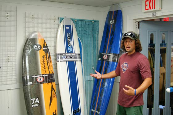 Stone Harbor surf shop owner runs hot and cold