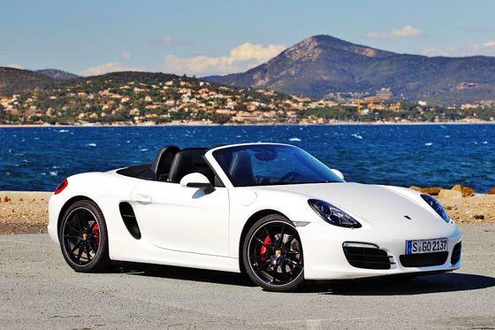 2013 Porsche Boxster Loses Weight, Adds Muscle