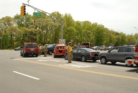Parkway Accident In Cape May County Slows Traffic Breaking News