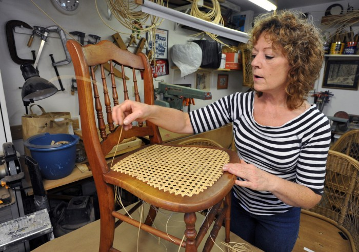 Home Enhancements. Egg Harbor Township woman restores more than just furniture at her