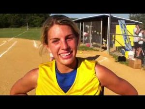Buena softball player Ashley Surran talks about winning a sectional title