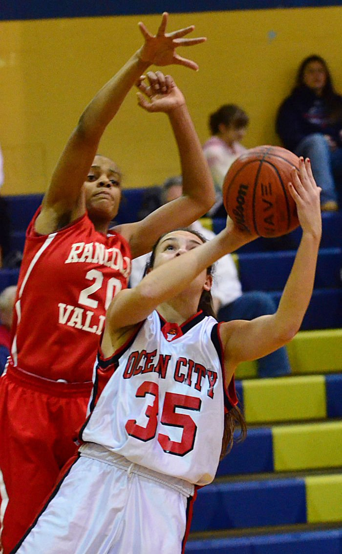 Ocean City / Rancocas Valley Girls Basketball