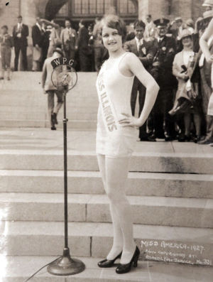 "Miss America Through The Years: Lois Delander , Miss America 1927 - Miss America photos from the collection of Allen ""Boo"" Pergament. - acp"