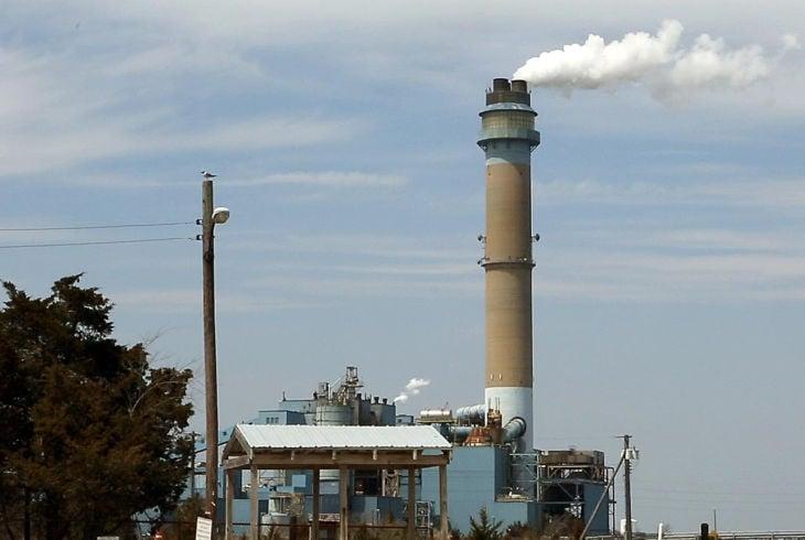 B.L. England power plant