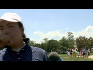 Shanshan Feng's Second Round Interview at the 2013 ShopRite LPGA Classic