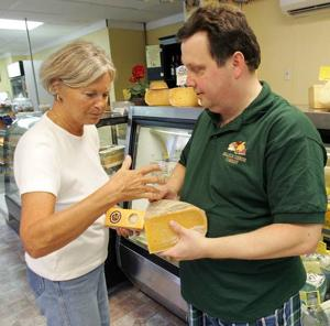 Bringing the cheeses of the world to his shop in Cape May County