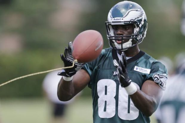 WR Jeremy Maclin, Eagles agree to 1-year contract