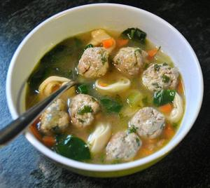 Try Meatball-Tortellini Soup for dinner tonight