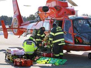 Airport drill prepares rescue crews for real-life disaster