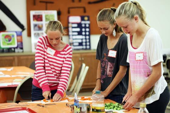 Cooking, nutrition workshop helps young chefs expand their palates