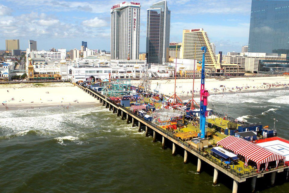 Rubber Ducky Races At Steel Pier Events