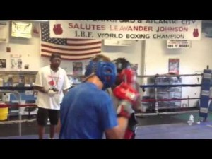 Majewski-Seldon sparring session July 2, 2012