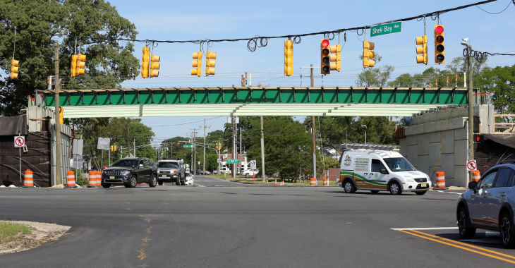 Parkway Overpasses Begin To Take Shape In Middle Township
