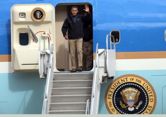 Obama visits Brigantine