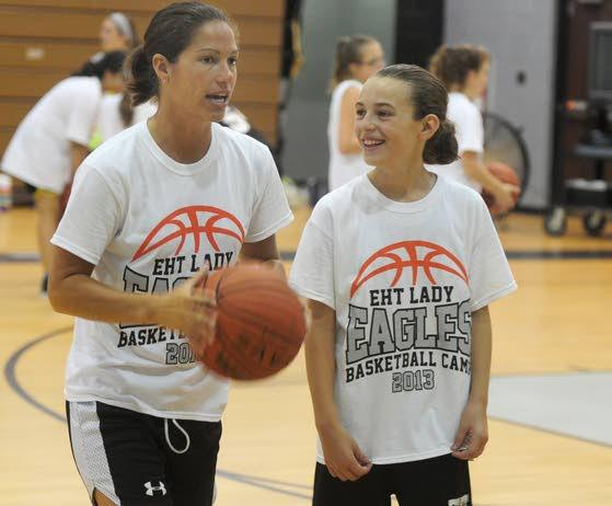 Members of Egg Harbor Township's 1992 state champion team return to run youth basketball camp