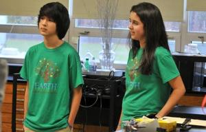 Absegami's Earth Shepherd group took shape last spring, thanks to freshmen