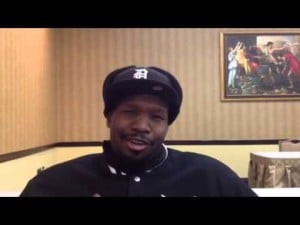 Interview with boxer Johnathon Banks