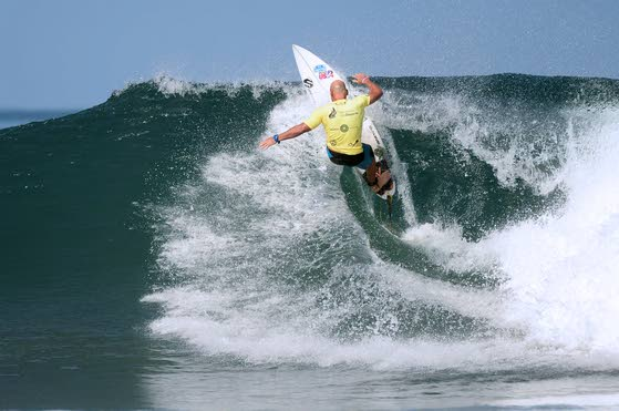 A local master of the waves remains among world's best