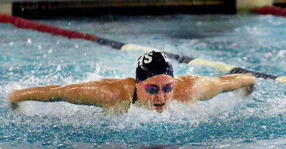 Colleen Callahan stakes claim as best local swimmer - ever