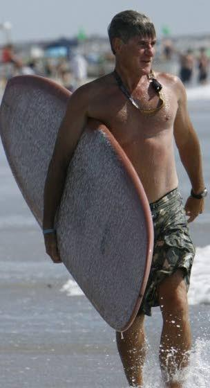 Christian  surfing camps his dream job