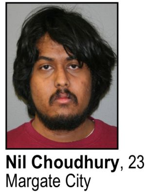 Nil Choudhury: Nil Choudhury, 23, of Margate, has been charged with possession of child pornography.
