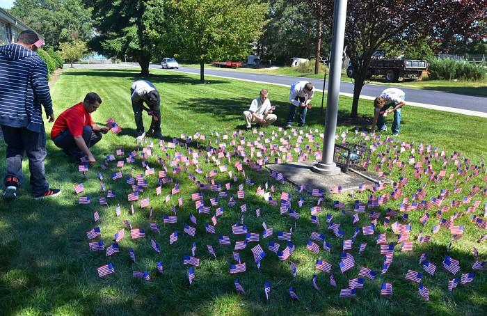 flags for 9/11