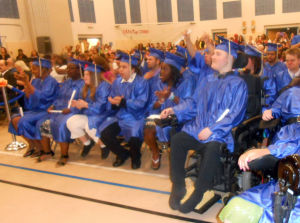 Atlanticgrads3980.JPG: Graduation ceremony at the Atlantic County Special Services School, Friday June 14, 2013.  - Diane D'Amico