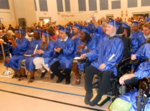 Atlanticgrads3980.JPG: Graduation ceremony at the Atlantic County Special Services School, Friday June 14, 2013.  - Photo by Diane D'Amico