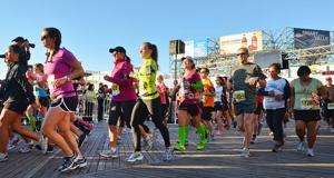 Ethiopians come long way, then go another 26.2 miles