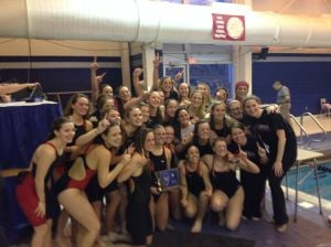 Ocean City girls swimming celebrate title