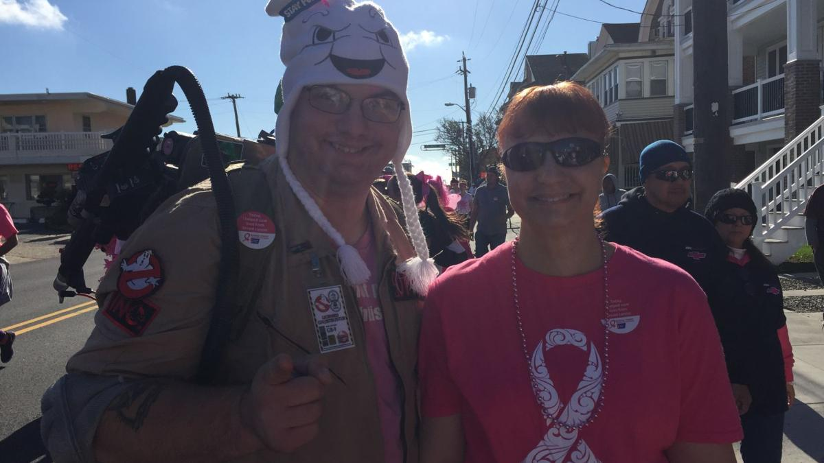 SEEN at Making Strides Against Breast Cancer Walk
