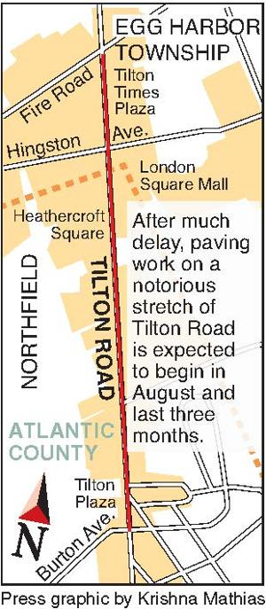 Tilton Road repaving