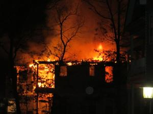 Galloway townhouse fire