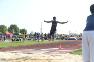 Atlantic County Track And Field Championships: Atlantic County track and field championships at Buena Regional High School Thursday, May, 8, 2014. - Edward Lea