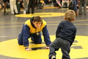 My life: Buena Regional senior wrestler Billy Ward