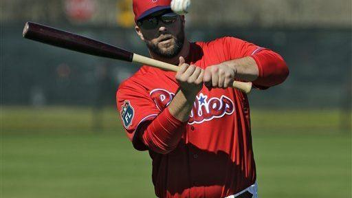 Phillies pitchers and catchers report