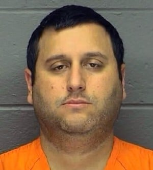 Leo Strazzeri: Leo Strazzeri, 42, of Galloway Township, is accused of striking Daniel Tavarez as the victim rode his motorized wheelchair through the crosswalk at Route 30 and Pennsylvania Avenue in Atlantic City on July 9.  - handout