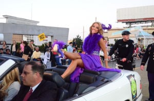 Miss America Parade: Miss Tennesee Shelby Thompson - Photo by Vernon Ogrodnek