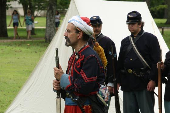 Batsto Village hosts Civil War re-enactment