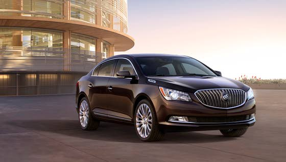 Buick Enhances 2014 LaCrosse Appearance