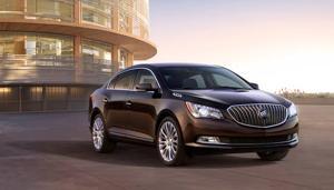Buick Enhances 2014 LaCrosse Appearance