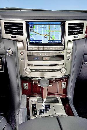 2013 Lexus LX 570: All-New Exterior