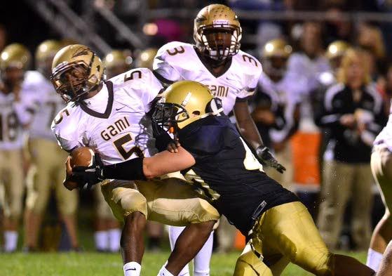 Pollock runs for 235 yards, Spartans take care of biz