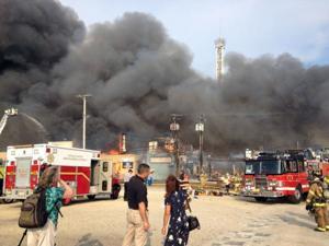 NJ Boardwalk Fire